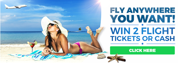 Fly anywhere in the world, win 2 tickets to a destination of your choice